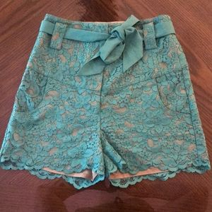 Guess Marciano Lace Shorts